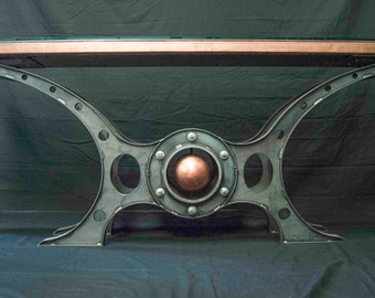 Steampunk, Machine Age console table