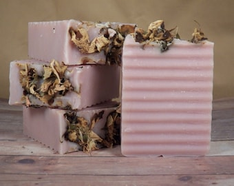 Crisp Apple Rose, All Natural, Cold Process Soap