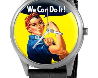 Custom Watch We Can Do it, custom watch