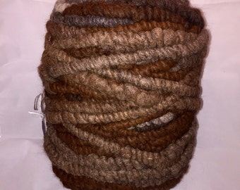 Alpaca Rug Yarn - Natural Variegated Colors - 100 Yards