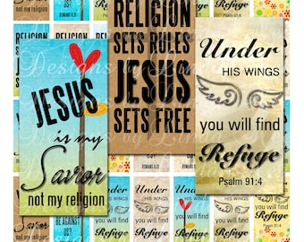 Instant Download CHRISTian JESUS Reigns 875 X 1875 Inch