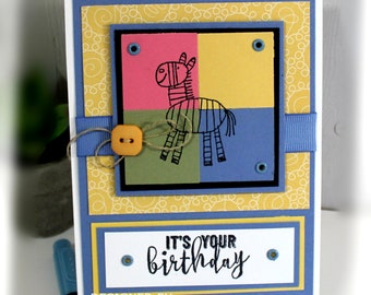 Birthday Card- Stampin' Up It's Your Bithday