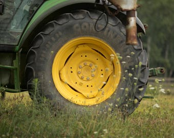 John Deere Tractor Tire for Newborn, Baby or Children Digital Background/Digital Composite
