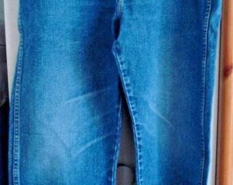 Vintage Men's Aughentic Wrangler Jeans Boot Cut 36 x 32