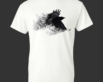 Crow Blackbird Abstract Men's T-Shirt