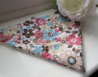 Haus_OfPaws Bold Multicoloured Floral Print Pet Bandana