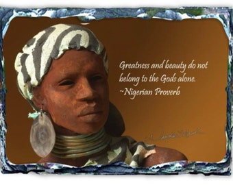 Woodrow Nash African Nouveau Slate - 25% Discount