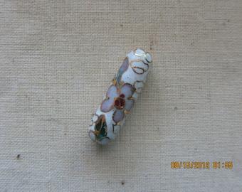 Vintage Cloisonne Beads Tube
