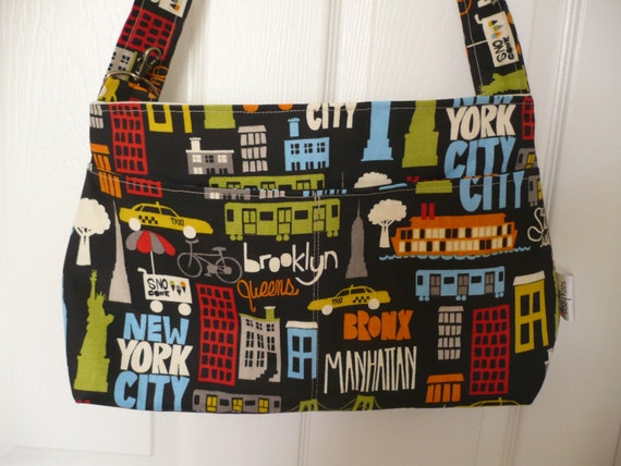 I Love NY Purse Diaper Bag