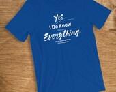 Carpenter T Shirt I Know ...