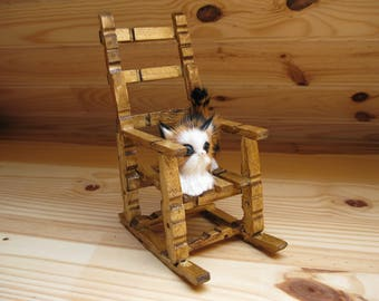 Chair wooden pegs
