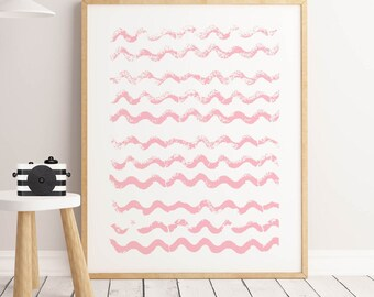 Ocean Waves Print, Watercolor Print, Wave Print,Trending Now, Downloadable Print, Wave Art,Ocean Print, Printable Art, Ocean roller Wall Art