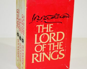 RARE The Lord of the Rings Box Set by J. R. R. Tolkien (1978)