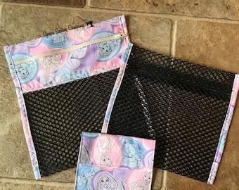 Diaper Bag Organizer - Mesh Bag Organizers - Free Snack Bag