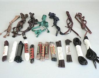 Vintage Dead Stock Shoe Laces Rayon / Cotton