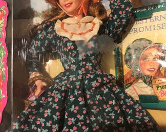 Collectible american pioneer barbie
