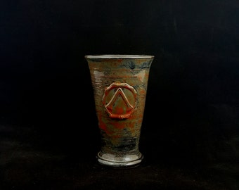 Stoneware Fire Elemental Cup