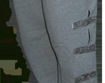 Black men's pants | Over the cast | Over knee brace