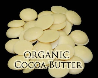 Organic Cocoa Butter Wafers - 1 pound 16 oz