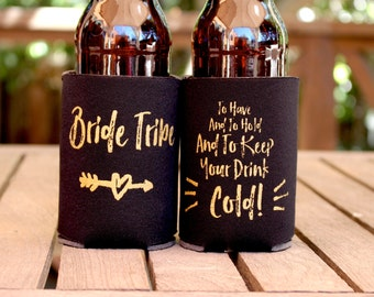 Bachelorette Party  | Bachelorette Favors | Bride Tribe | Bachelorette Gift | Bachelorette Can Coolers | Bridesmaid Gift | Bridesmaid Box