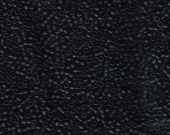 5g DB310 Miyuki Delica Bead Matte Black