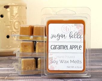 Scented Wax Melts - Soy Wax Tarts - Wax Cubes - Scented Tarts - Candle Melts - Soy Wax Melts - Homemade Natural Wax Melts - Caramel Apple
