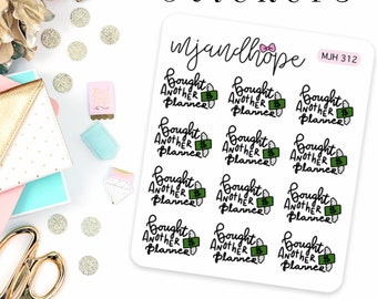 Bought Another Planner Stickers