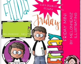 Friday clip art - Mini