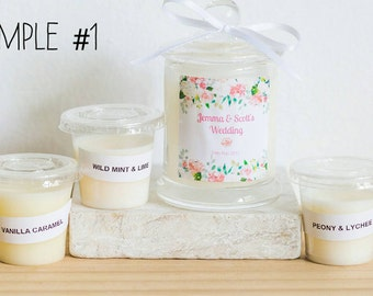 Candle Favour Sample Pack