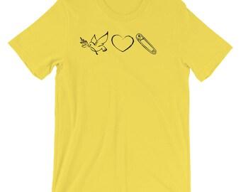 Peace Love & Solidarity ~ T-Shirt