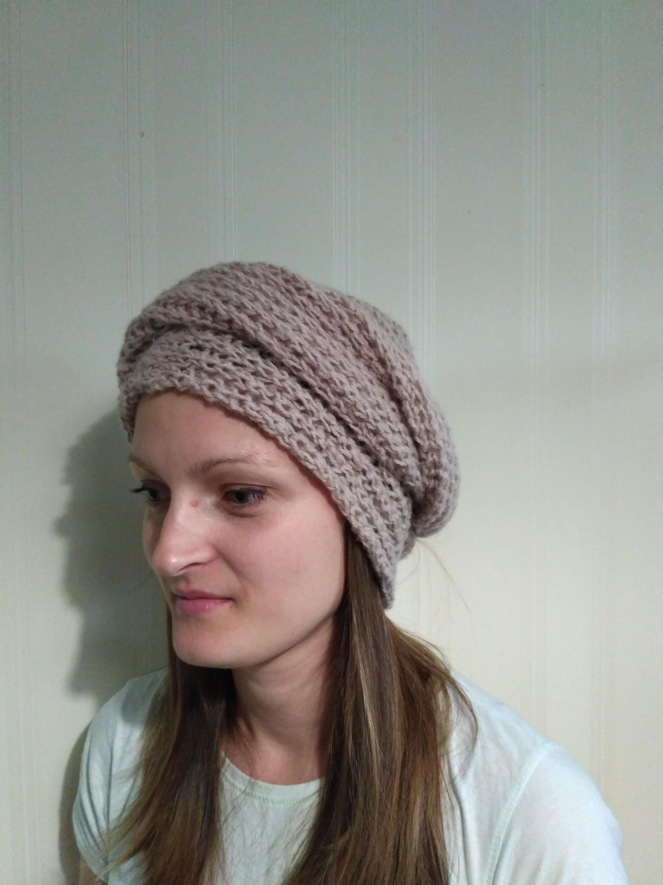 Chalma Knitted hat for women and adolescents hat with a