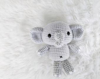 Pattern: Crochet Elephant Pattern, Amigurumi Tutorial Pattern, Crocheted Elephant, Amigurumi Elephant, Tutorial PDF Crochet Pattern