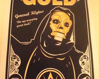 Flash Gordon movie poster print