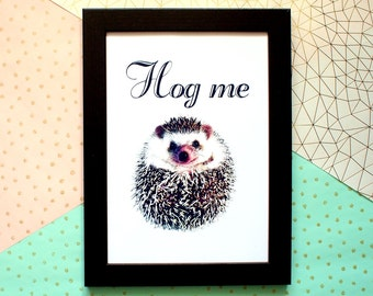 Cute hedgehog picture, Gifts for hedgehog lovers, Hedgehog gifts, Nursery decor, Hedgehog print, Hedgehog art, Hedgehog presents, For her