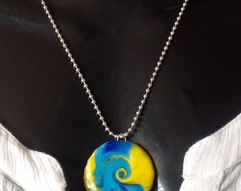 Polymer Clay Jewellery-Handmade-Fashion Jewellery -Christmas  Gift- Unique-One off.