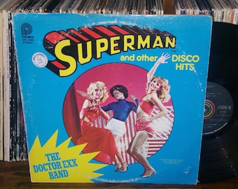 Superman And Other Disco Hits RARE Vintage Vinyl Record