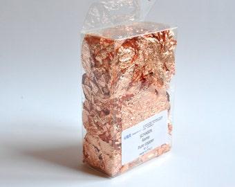 Copper Gilding Foil. Imitation Copper Leaf.
