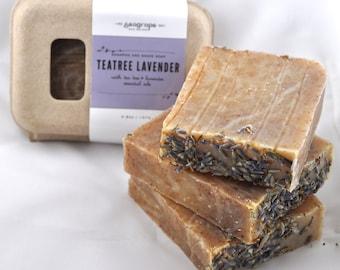 Tea Tree Lavender shampoo bar