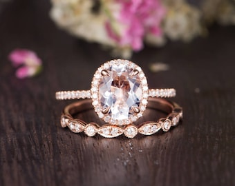 Antique engagement ring rose gold Etsy