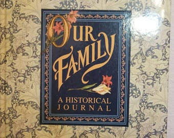 Vintage Our Family journal/genealogy record