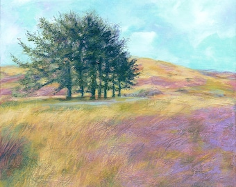 Greetings Card - Heather Moors