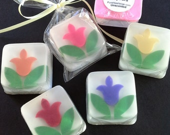Tulip Soap Favors