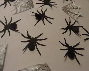 Halloween Spider & Spider Web Confetti (100 Count)