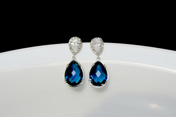 resin blue earrings stone halogen nordstrom linear women c s