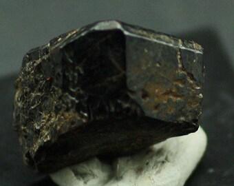 Brown lustrous Titanite Crystal, Canada - Mineral Specimen for Sale