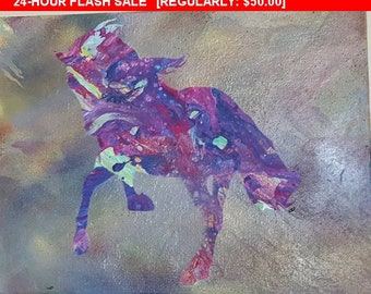 Abstract horse, horse art, horse painting, equine art, horse artwork, poured painting, colorful horse, organic layers, organic shapes, horse