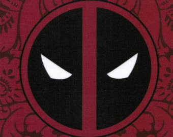 DISCONTINUED Deadpool Logo fabric print