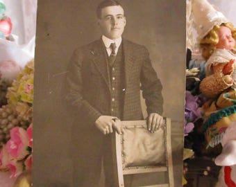 Antique Vintage Photograph-1920's-David