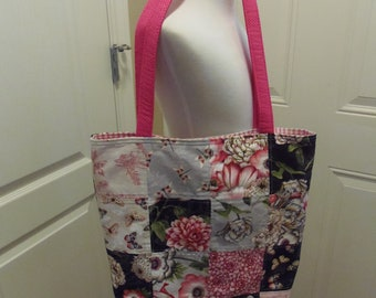 Floral Charm Pack Tote Bag