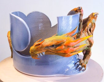 Dragon Yarn Bowl